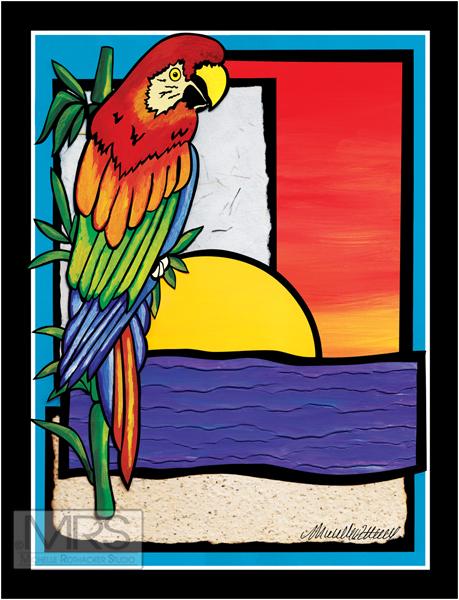 Scarlet Parrot